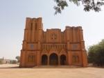 La cathédrale de face